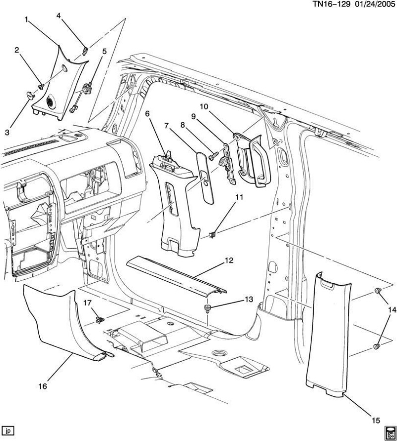 Hummer H2 Interior Parts Diagram Carnmotors