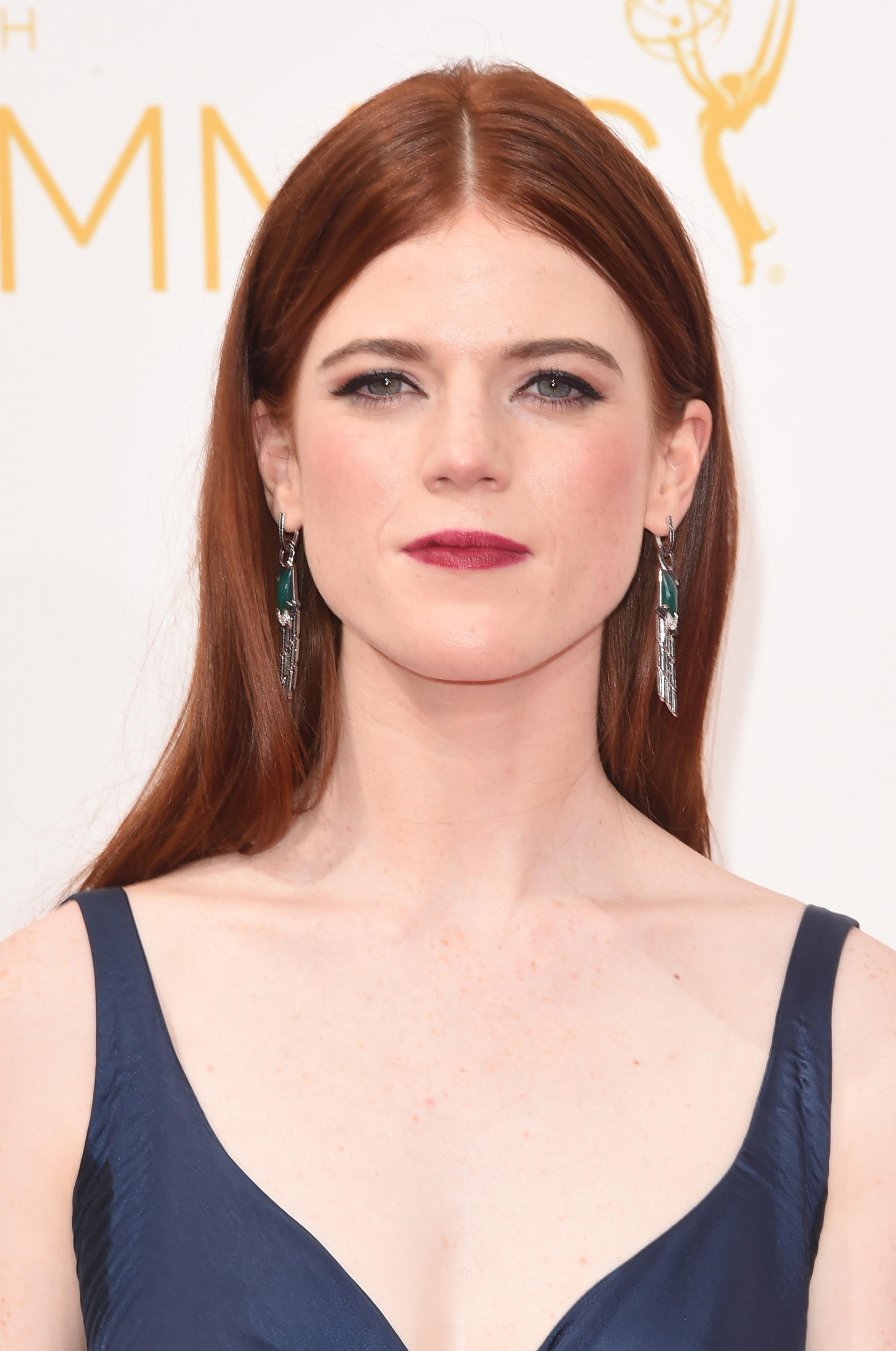 Rose Leslie Pictures and Photos   Fandango Rose Leslie at the 66th Annual Primetime Emmy Awards