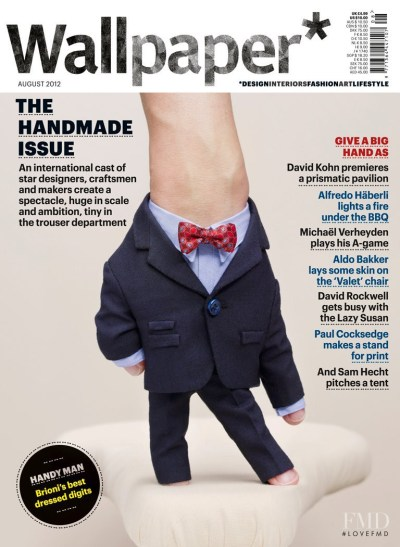 Cover of Wallpaper* Magazine , August 2012 (ID:22613)| Magazines | The FMD