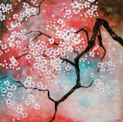 Small Of Cherry Blossom Painting