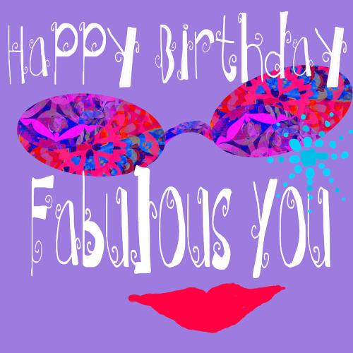 Medium Of Happy Birthday Fabulous