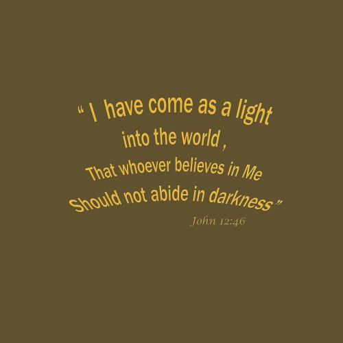 Medium Of Bible Verses About Light