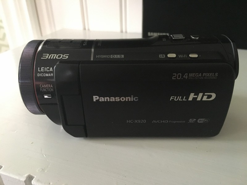 Large Of Panasonic Hc X920