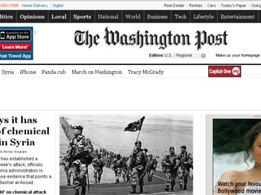 Washington Post website hacked, Assad supporters claim responsibility - Firstpost