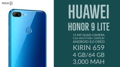 Huawei Honor 9 Lite first impressions: Quad-camera smartphone priced from Rs 10,999 onwards has ...