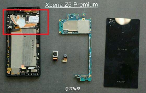 xperia z5 premium rumeur teardown