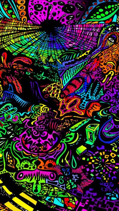 30+ Trippy iPhone Backgrounds | Mobile | FreeCreatives