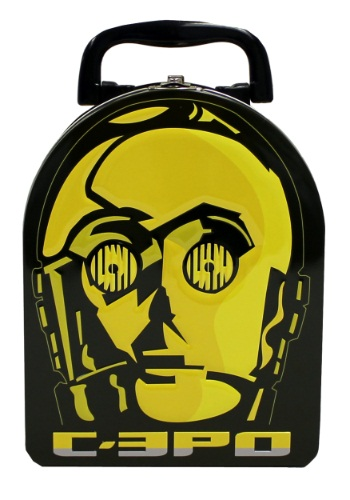 C-3PO Embossed Arch Tin Box