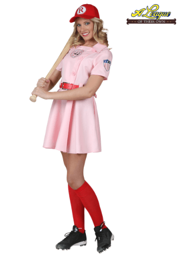Plus Size A League of Their Own Dottie Costume