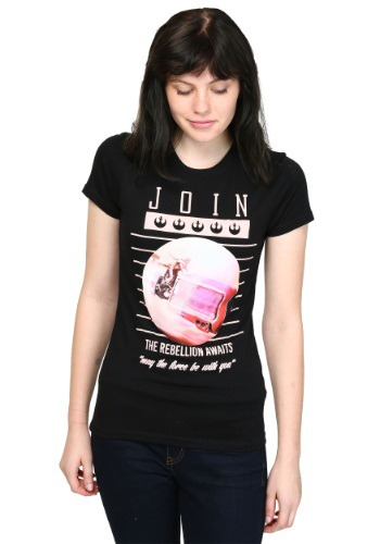 Star Wars Join The Rebellion Juniors T-Shirt