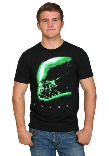 Alien Profile Men's T-Shirt