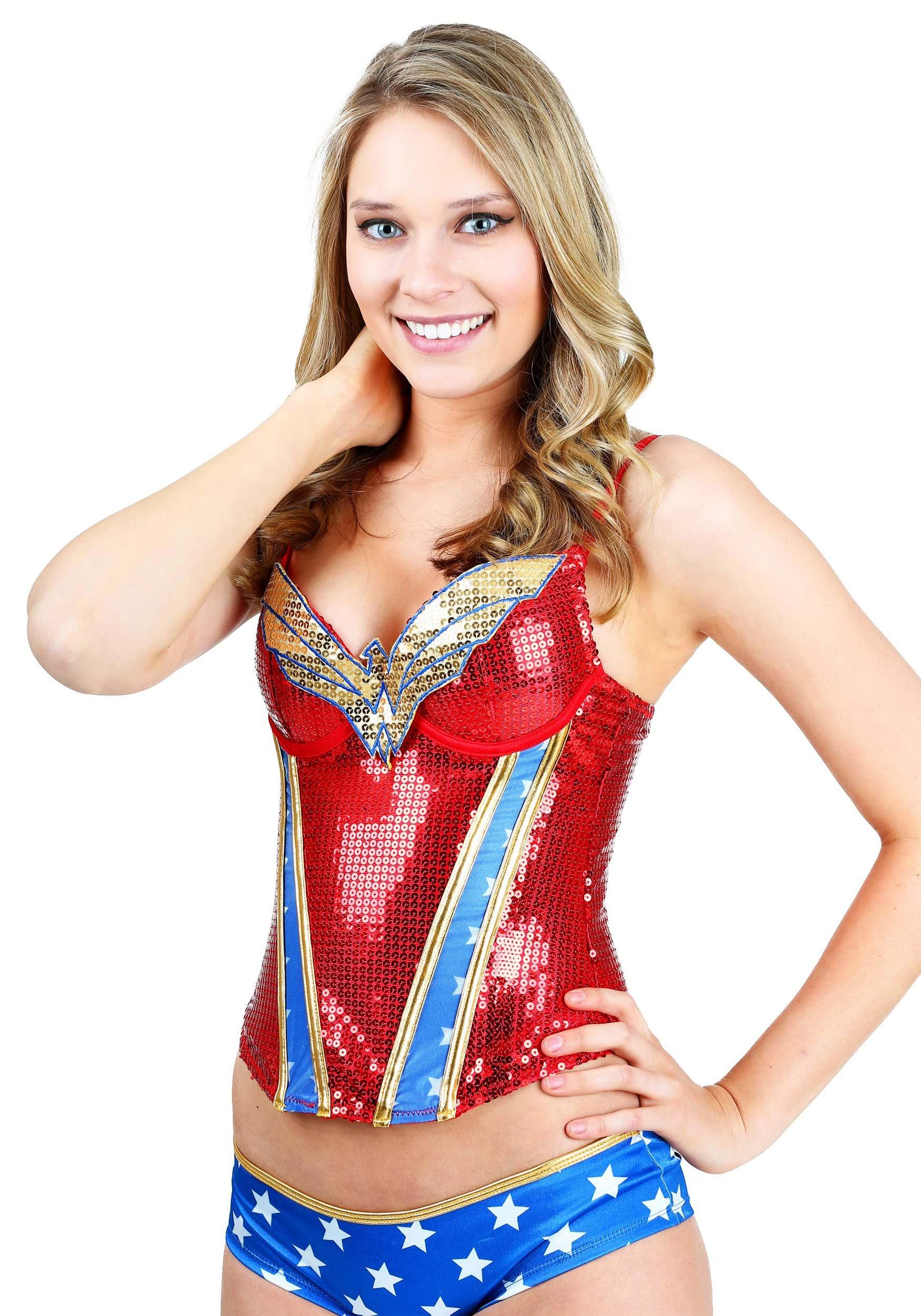 Fullsize Of Wonder Woman Pajamas