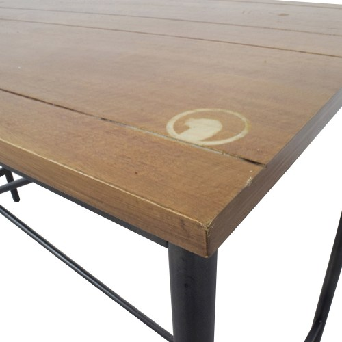 Medium Crop Of Industrial Console Table