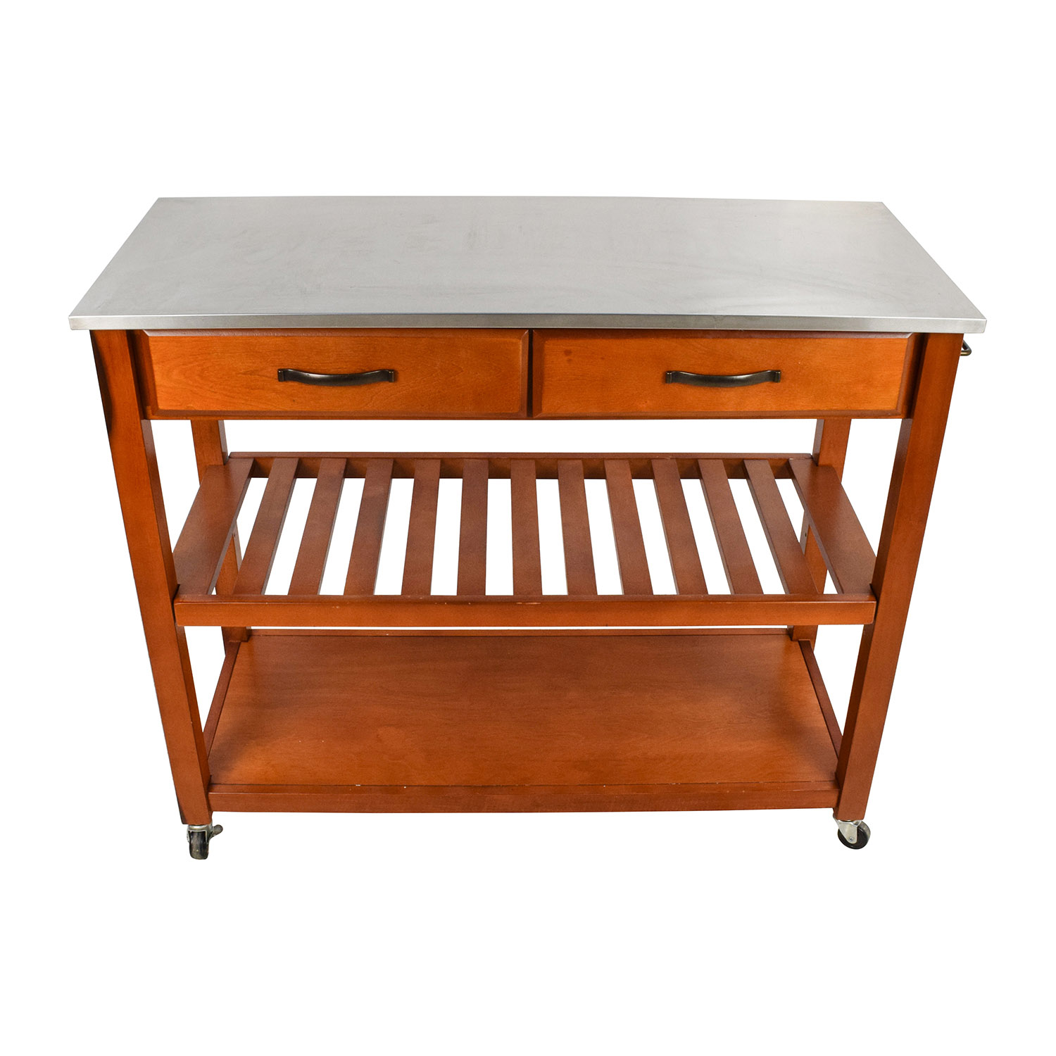 utility tables kitchen utility table Crosley Crosley Natural Wood Top Kitchen Cart and Island second hand