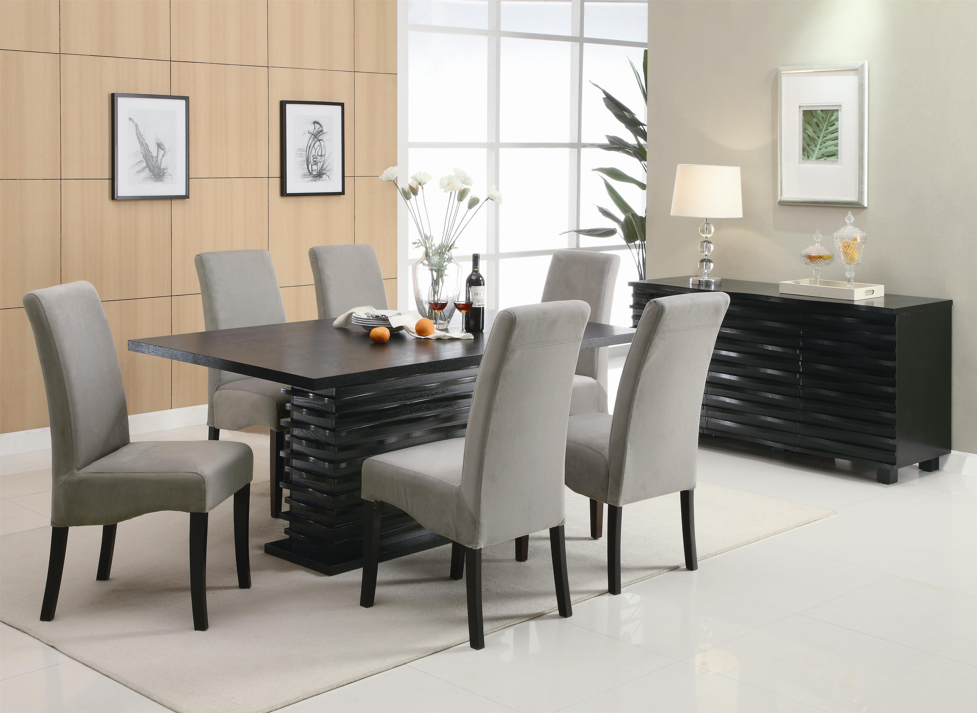 gray kitchen table