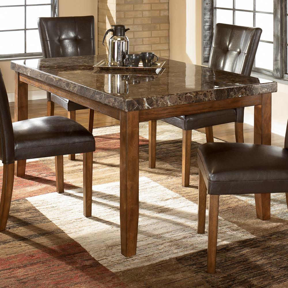 rectangular kitchen table Signature Design by Ashley Furniture Lacey Rectangular Dining Table Item Number D 25