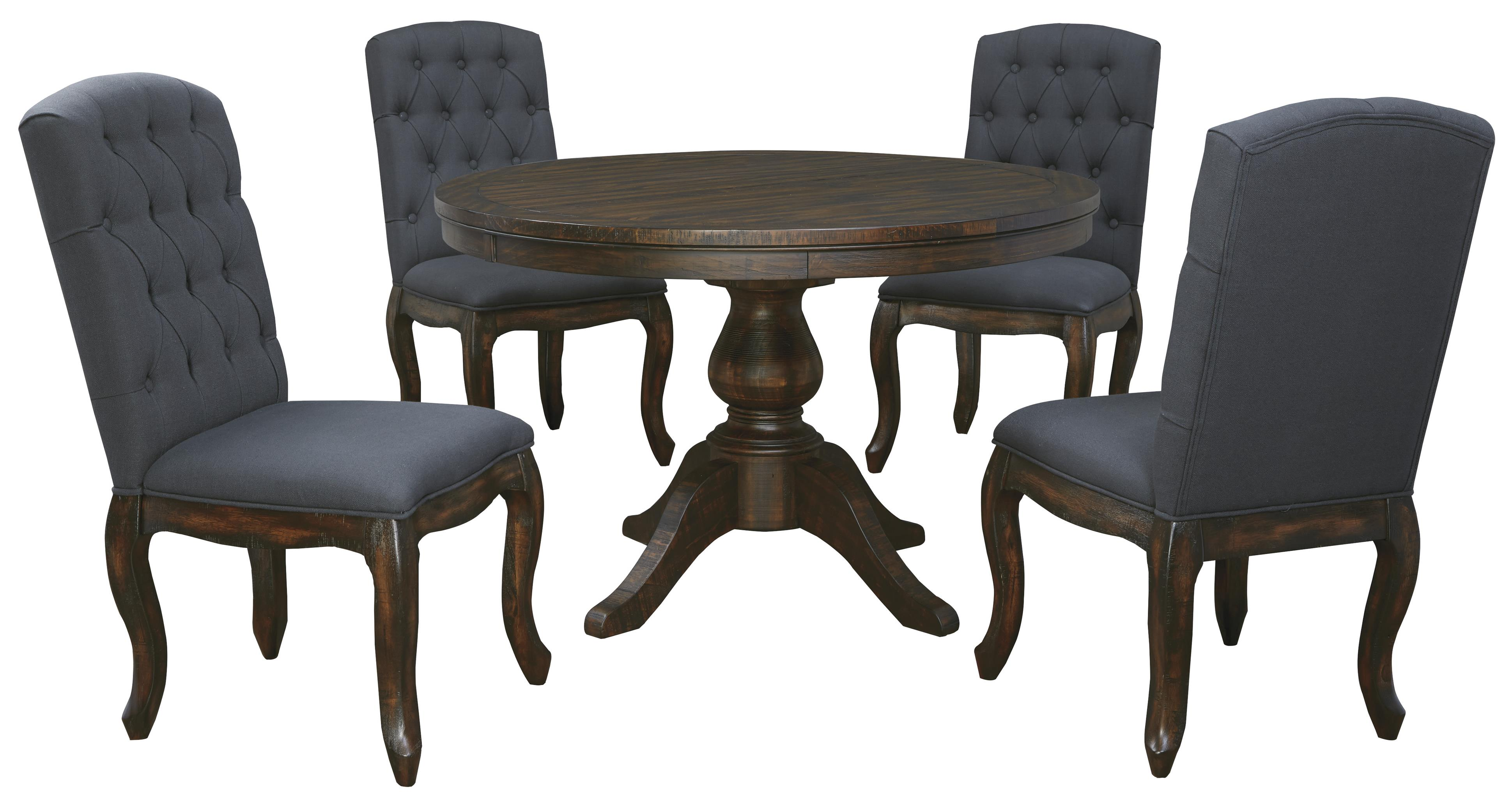round kitchen table set Signature Design by Ashley Trudell 5 Piece Round Dining Table Set Item Number