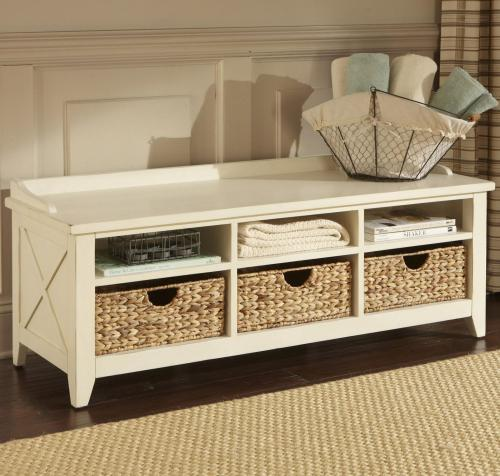 Medium Of Wooden Storage Bench