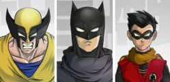 Superheroes – Dragon Ball Z style