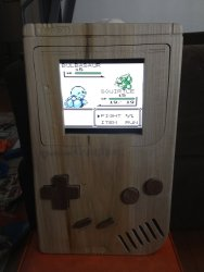 Wooden Gameboy 2