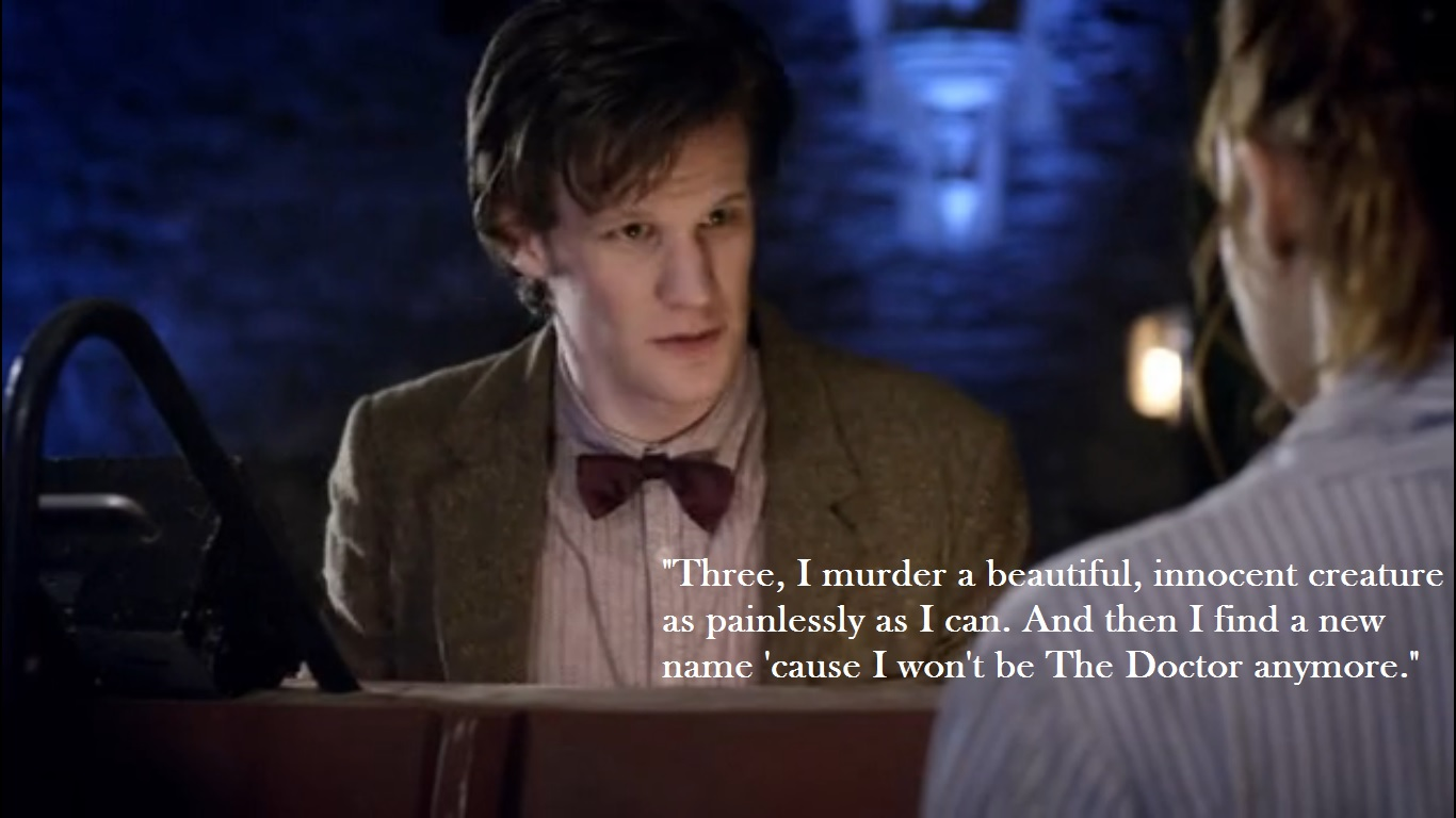 The Doctor won't be the Doctor