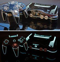 Custom made Tron Legacy Nintendo 64