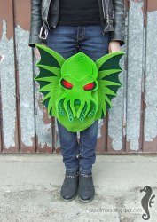 Dragon and Cthulhu bags for gamers and geeks