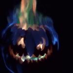 How to make a green fire Jack o'Lantern