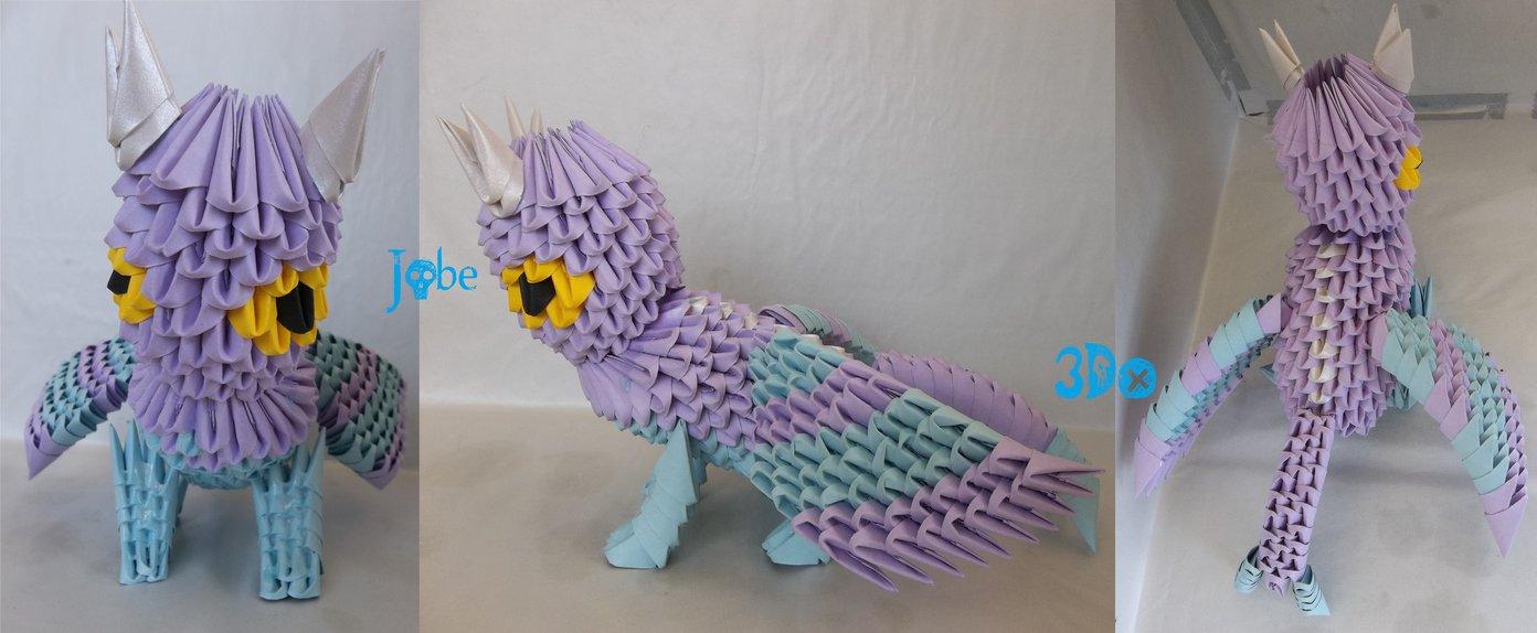 3D Origami - Dragon