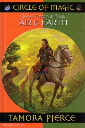 Air & Earth (Circle of Magic, #3-4)