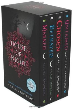 Marked / Betrayed / Chosen / Untamed (House of Night, #1-4)
