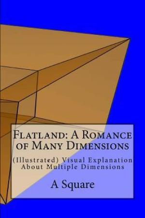Flatland A Romance of Many Dimensions Illustrated Visual Explanation about Multiple Dimensions