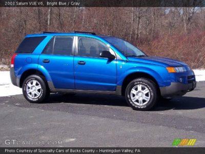 Bright Blue - 2003 Saturn VUE V6 - Gray Interior | GTCarLot.com - Vehicle Archive #5054710