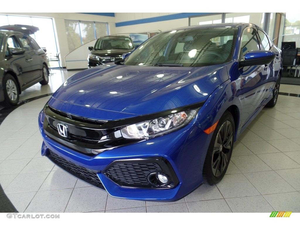 Aegean Blue Metallic Honda Civic