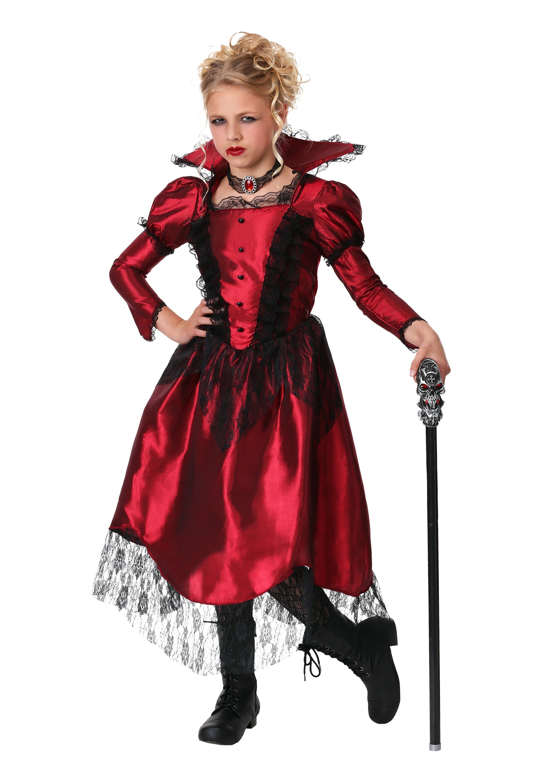 Fullsize Of Girls Vampire Costume