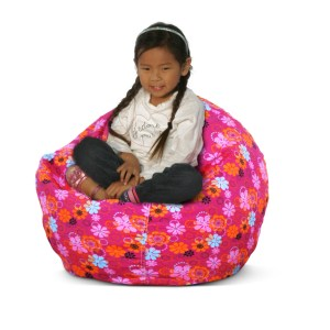 flower power bean bag chair