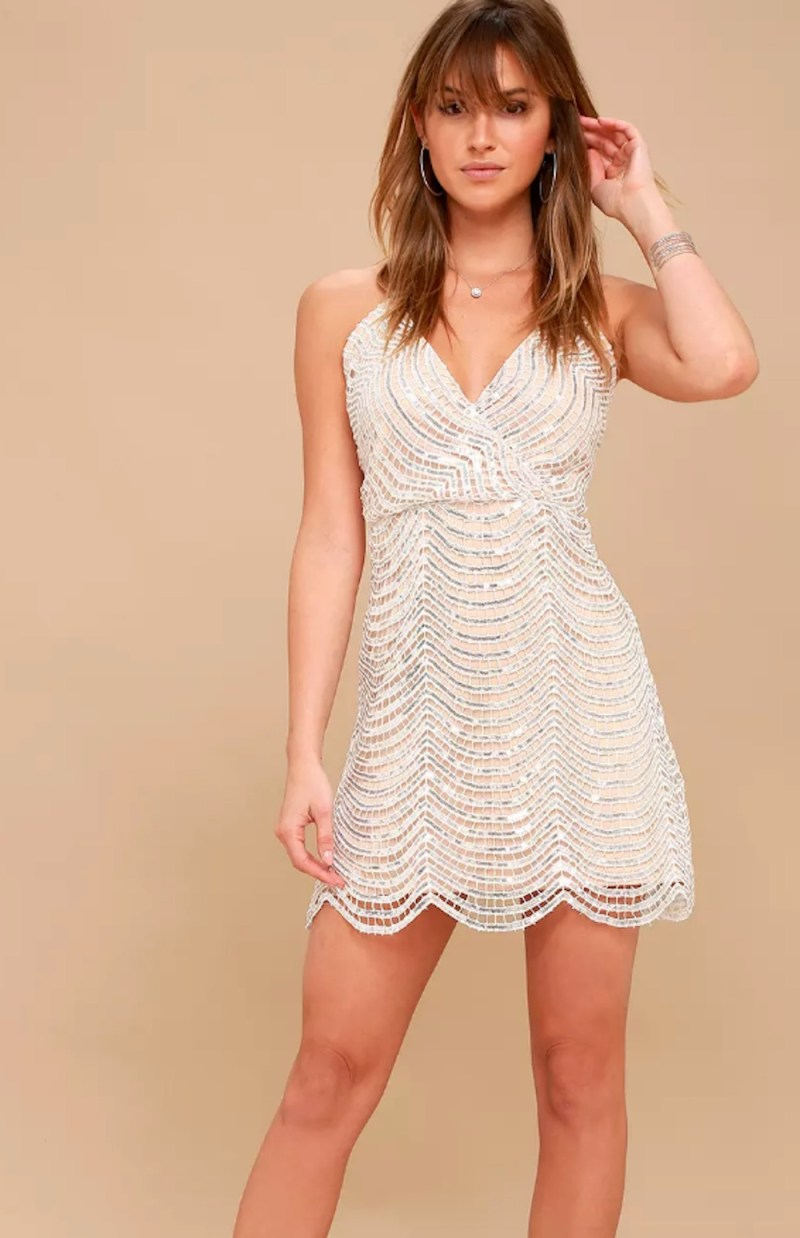 Large Of Silver Sequin Dress