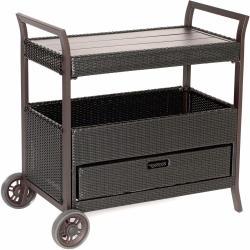 Small Crop Of Outdoor Bar Cart