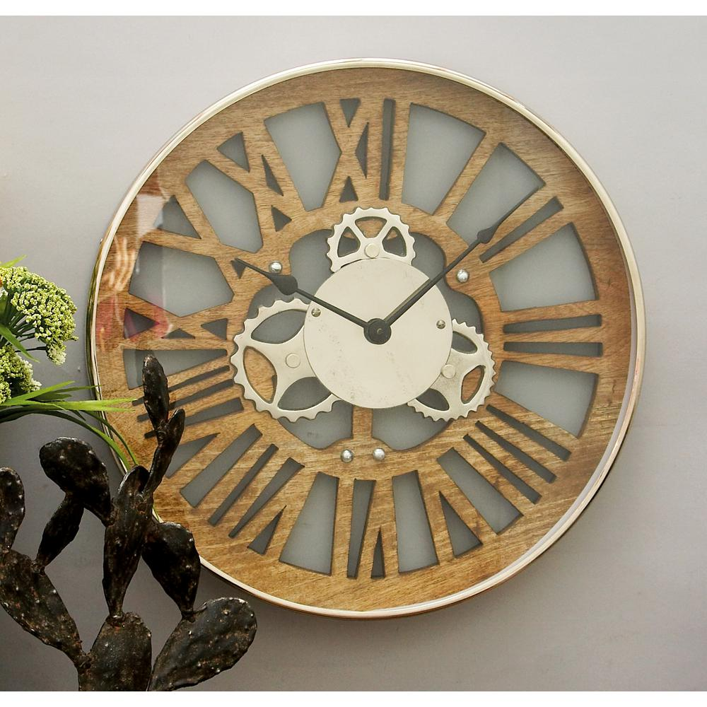 Fullsize Of Gear Wall Clock