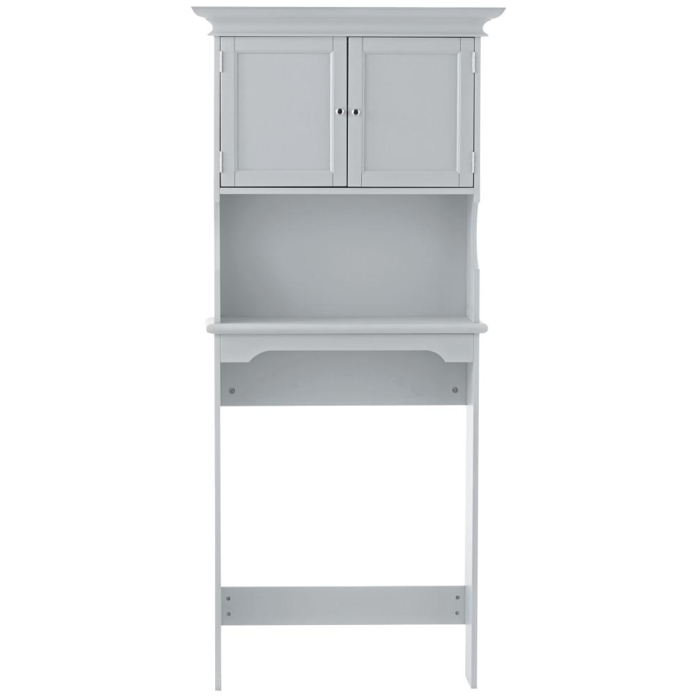 Startling Hampton Harbor Space Saver Storage Bathroom Cabinets Storage Home Depot Over Toilet Space Saver Canada Over Toilet Space Saver Black houzz-03 Over The Toilet Space Saver
