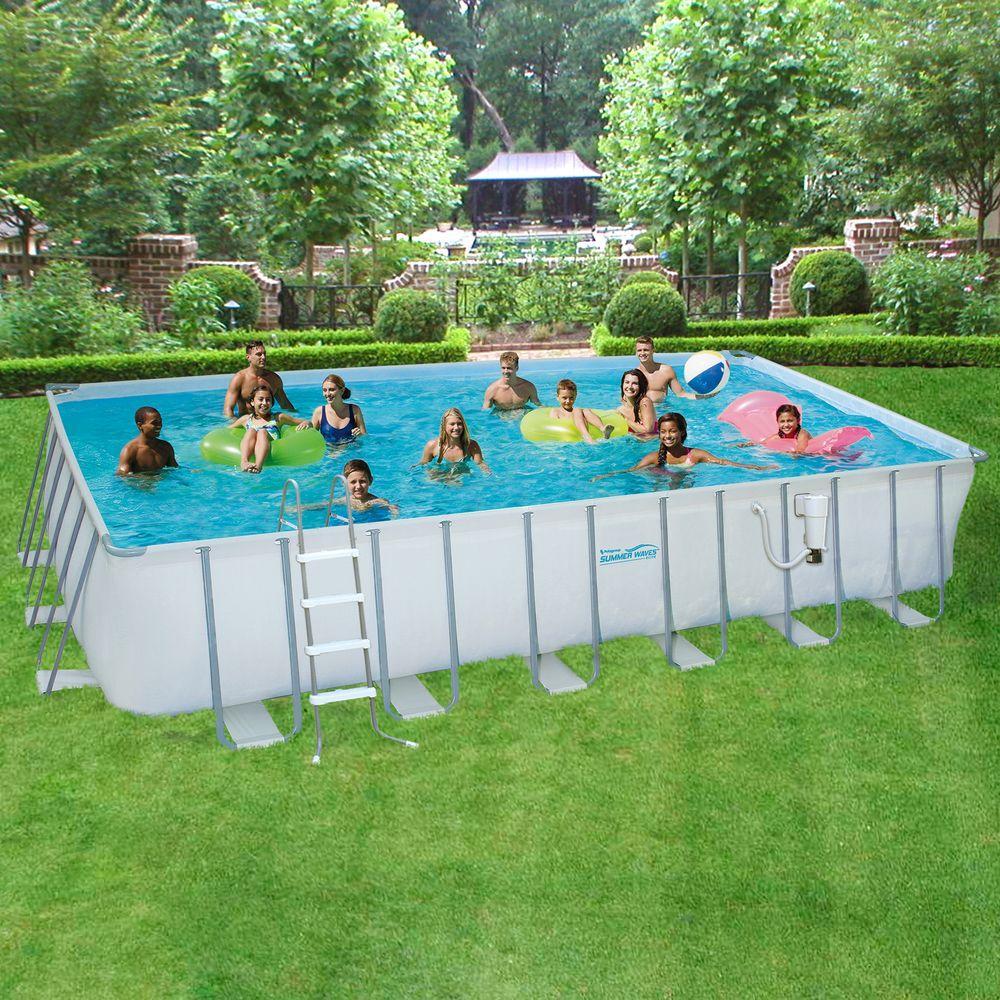 Fullsize Of Rectangle Above Ground Pool