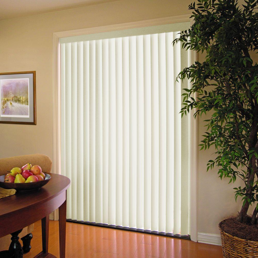 Crown Alabaster 35 In Vertical Blind  78 W X