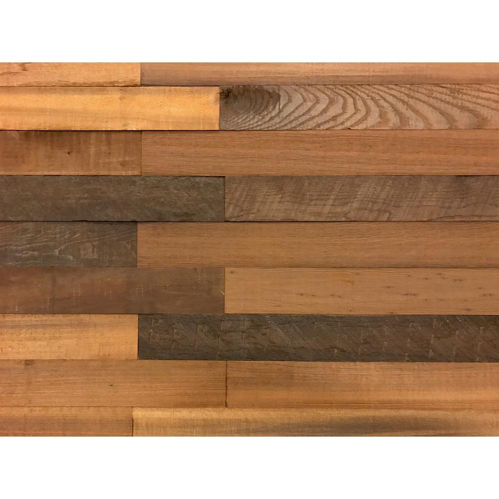 Fancy Varies From Light Brown To Brown Almost Black Reclaimed Wood Barn Wood Boards 11234 64 1000 Reclaimed Wood Wall Art Diy Reclaimed Wood Wall Art houzz 01 Reclaimed Wood Wall