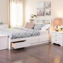 Small Crop Of White Bed Frame