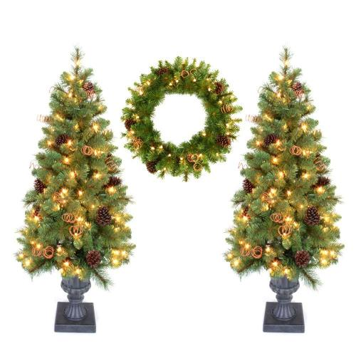 Medium Crop Of Home Depot Artificial Christmas Trees