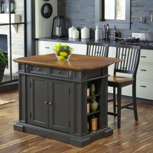 Adorable Seating Home Styles Americana Grey Kitchen Island Kitchen Island W Seating Home Styles Americana Grey Kitchen Island
