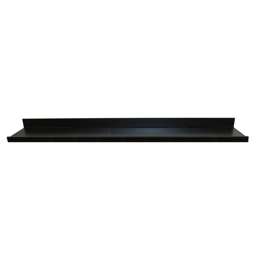 Fullsize Of Large Black Floating Shelves
