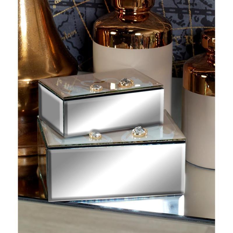 Large Of Mirrored Jewelry Box