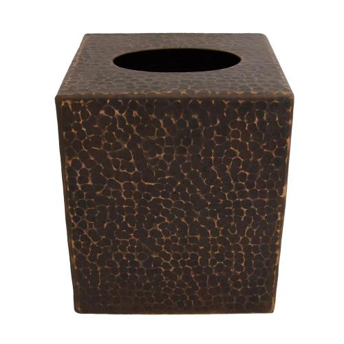 Astonishing Oilrubbed Bronze Premier Copper Products Small Hand Hammered Copper Tissue Box Cover Premier Copper Products Small Hand Hammered Copper Tissue Box Cover