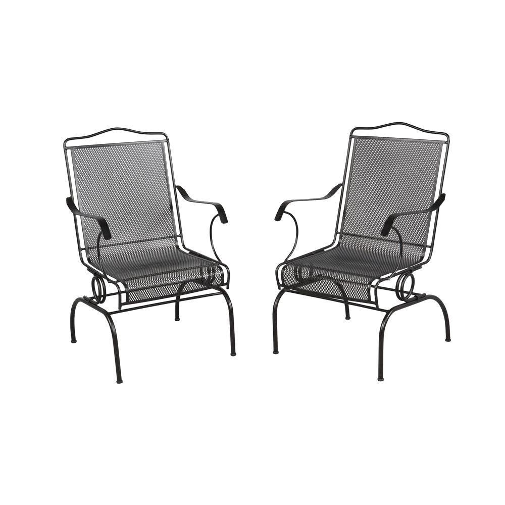 Natural Jackson Action Patio Chairs Wrought Iron Metal Patio Furniture  Patio Furniture Outdoors Iron Patio Furniture